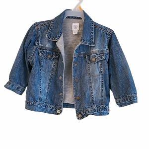 Baby Gap denim jacket with snap closure